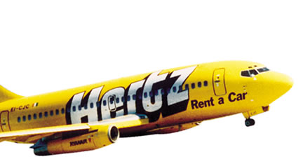 Ryan Air Hertz Livery