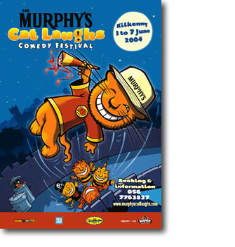 The Murphy's Cat Laughs Comedy Festival Brochure 2004
