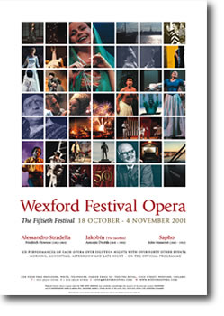 Wexford Festival Opera poster 2001