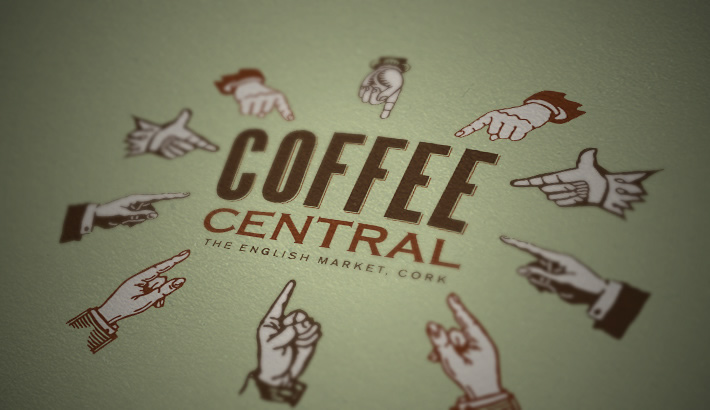 Logo design. Coffee shop